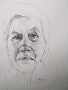 portret & project schetsen