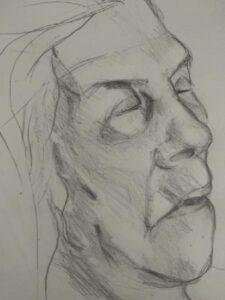 doodsportret, laatste portret