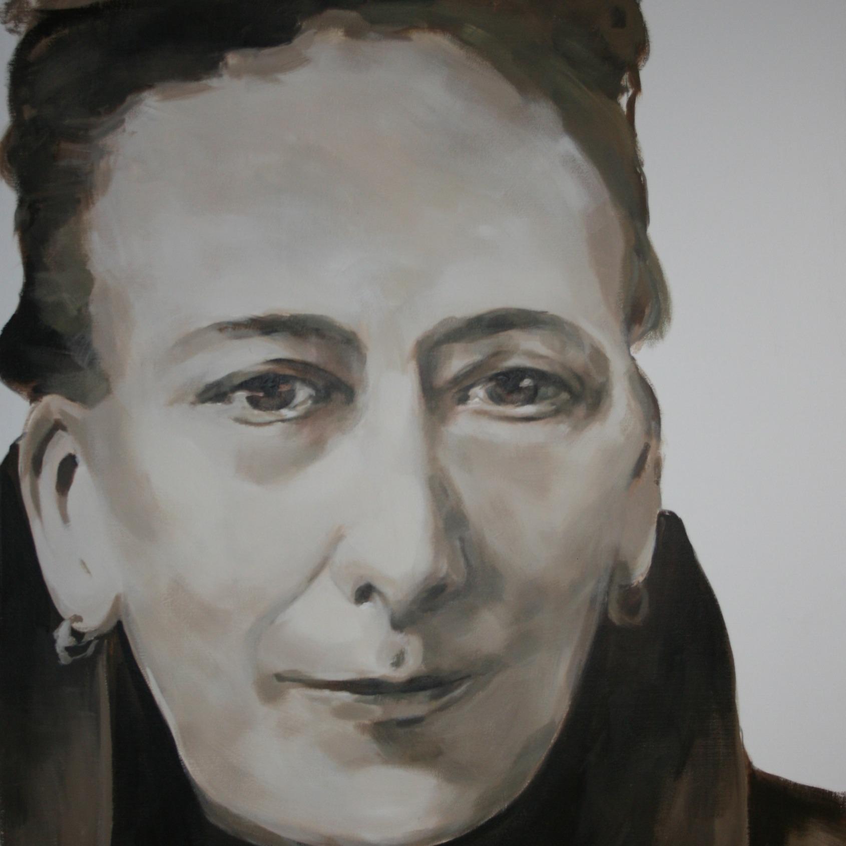 christina Kempeners geschilderd door Meg Mercx