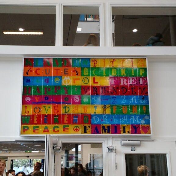 kunst in de aula filosofietjes oveer geluk
