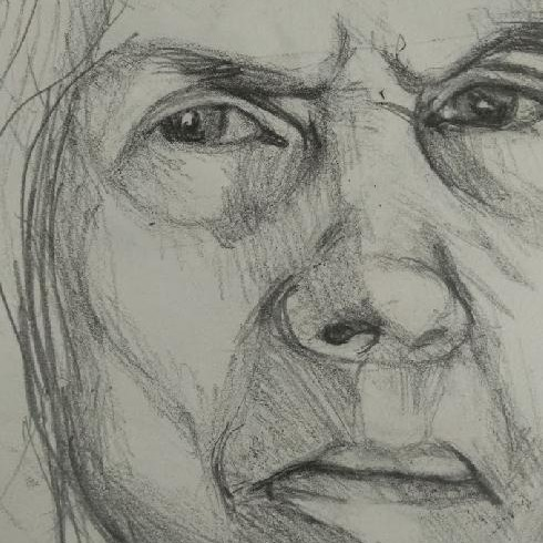 schetsen van portretten, portret tekenen,