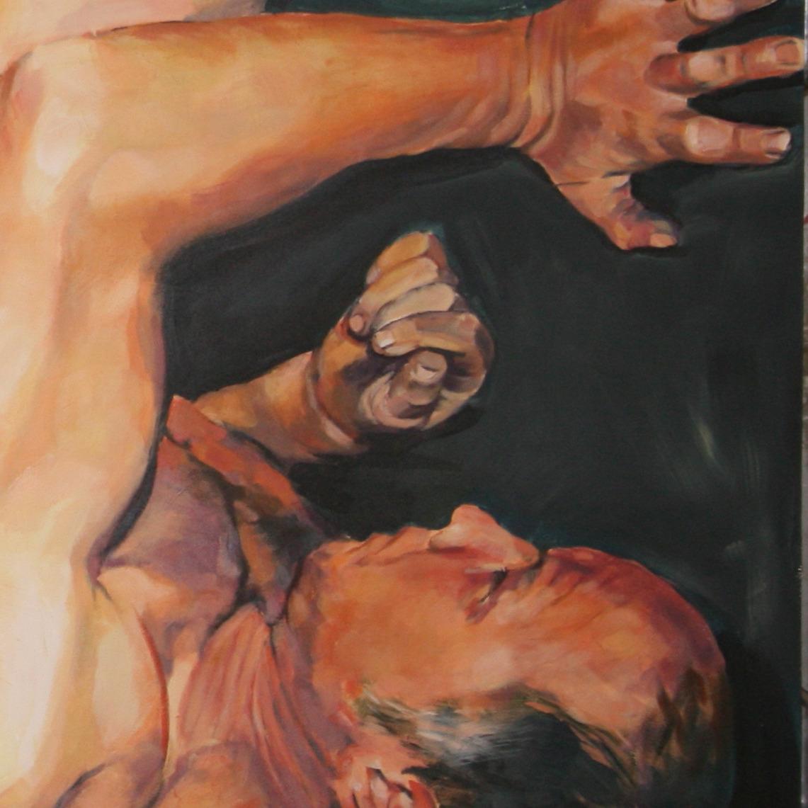 rob detail schildering Meg