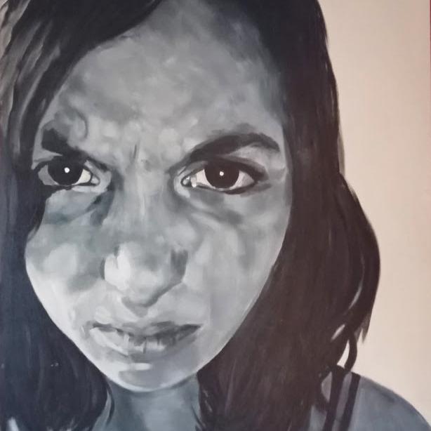 tamay geschilderd door meg Mercx 2