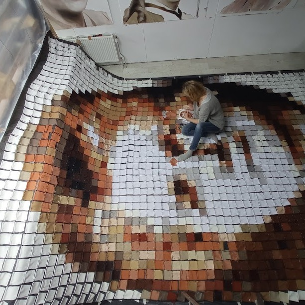 waai-pixelportret Johana Smit door Meg Mercx